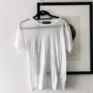 Tops - Reformation White Tee